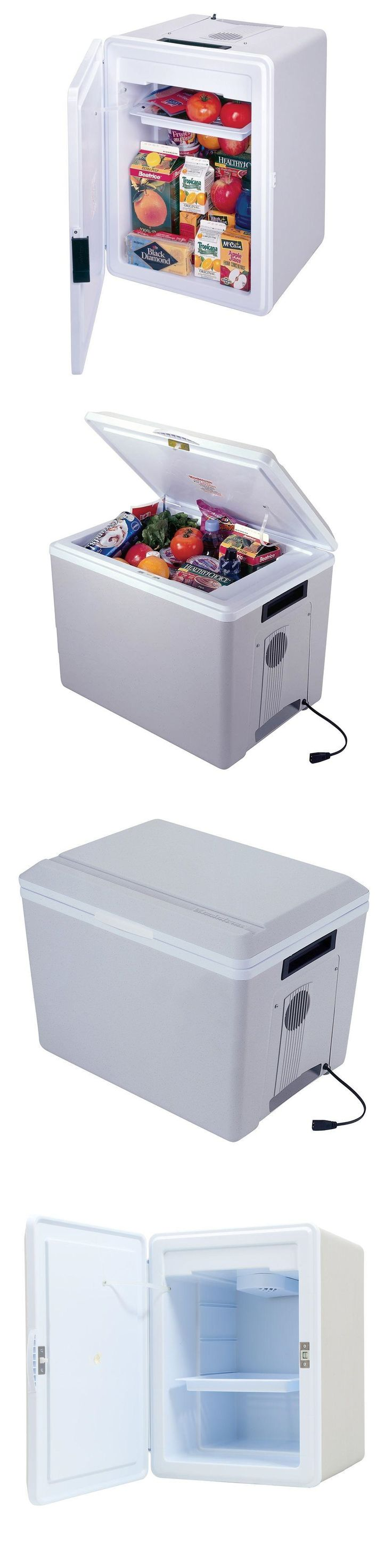 12-Volt Portable Appliances: Portable Mini Fridge For Car Travel Cooler And Warmer Electric Camping Food Bbq BUY IT NOW ONLY: $165.99