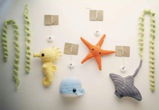 Crochet mobile                                                                                                                                                     More