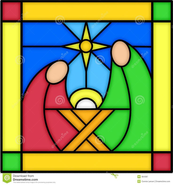 Nativity In Stained Glass - Download From Over 49 Million High Quality Stock Photos, Images, Vectors. Sign up for FREE today. Image: 364387