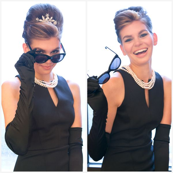 Holly Golightly Costume - Holly Golightly Hair - Marie Claire