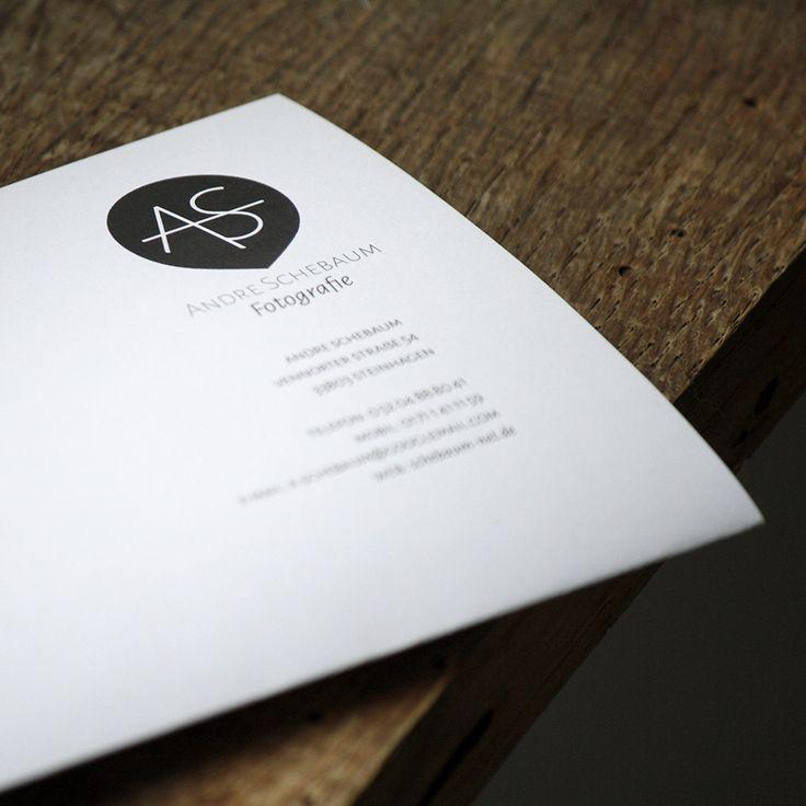 Briefbogen für den Fotografen Andre Schebaum aus Steinhagen