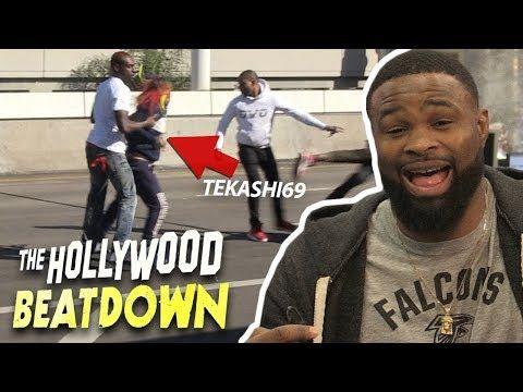 Tyron Woodley Breaks Down Tekashi69 LAX Brawl | The Hollywood Beatdown