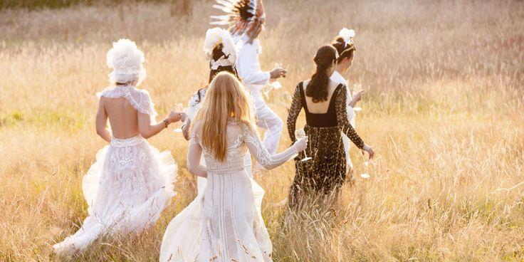 La collection capsule de robes de mariee bridal Temperley London et Net-A-Porter 4