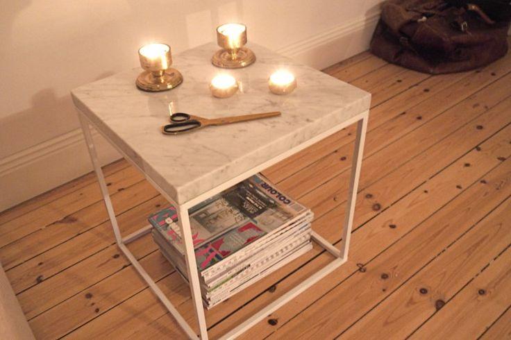 Caroline Sandström  » MARBLE AND BRASS  designtorget stomme + stenskivor.se #marble #marmor