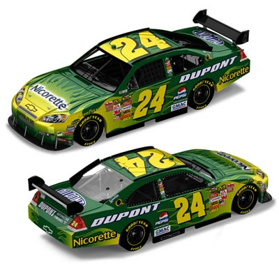 The Nicorette car Jeff drove in 09-10,