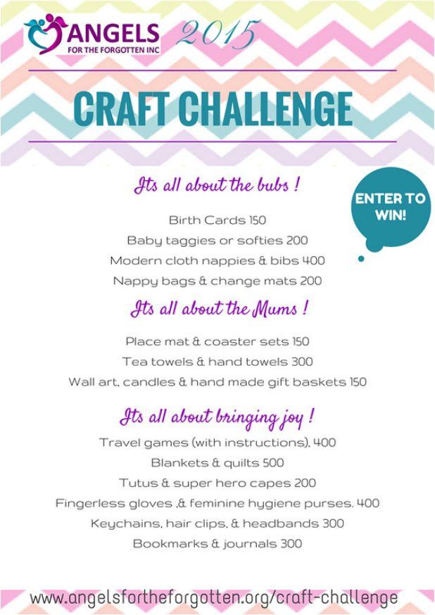 Annual Craft Challenge 2015