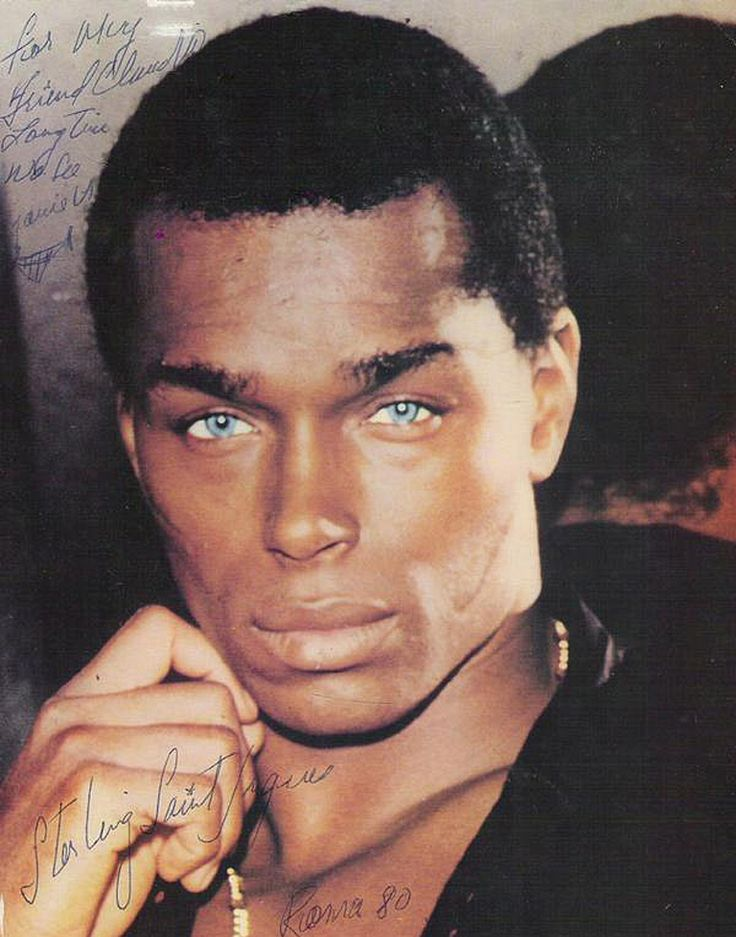 Sterling Saint Jacques — the world's first black male supermodel