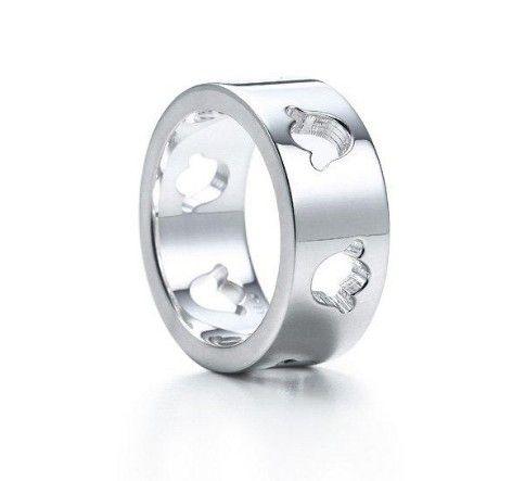 Tiffany & Co Cutout Tulip Ring