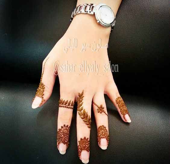 Pin By Sweta Abhay On Mehendi Designs: Best Simple Latest Finger Mehndi Designs 2017 New Styles