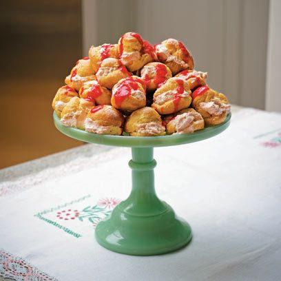 Tana Ramsay's White Chocolate and Strawberry Profiteroles | Red Online