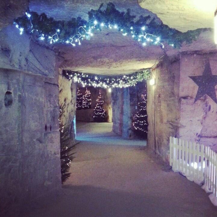 #kerstmarkt #valkenburg # grot