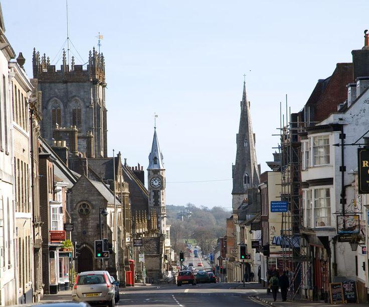 Dorchester High Street - Photos of Dorset