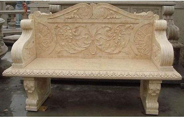 its used base cream marble sofa set of marbles made best of like it its very beautiful used for garden