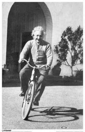 Albert Einstein - Bike