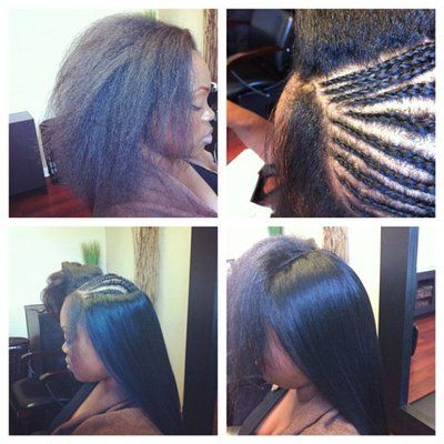 137 best flawless hair sew in braid patterns images on pinterest full sew in weave minimal hair was left out to cover the tracks pmusecretfo Images