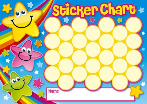 31 best Sticker Charts images on Pinterest Rewards chart, Sticker - sticker chart