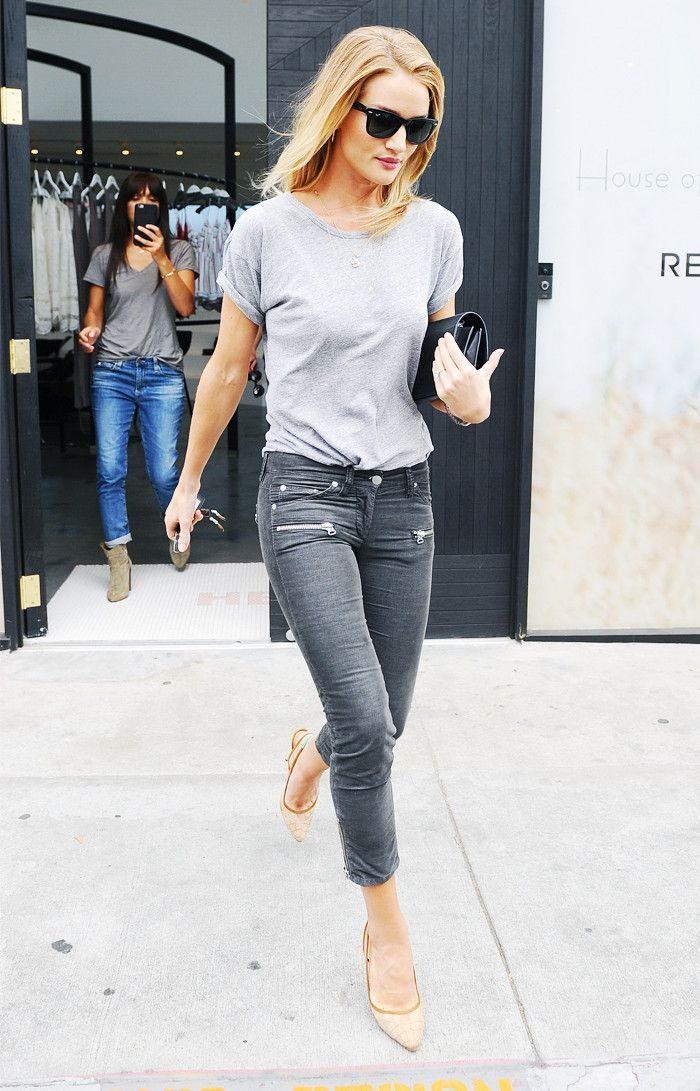 12 Rosie Huntington-Whiteley Outfits You'll Want to Copy Straight Away via …