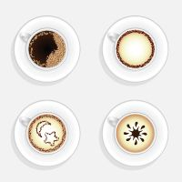 √ Quick Tip: How To Create a Cup Of Coffee in Top View (Illustrator: beginner: 45 minutes)
