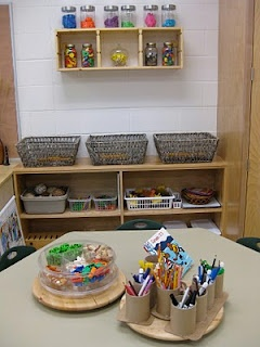 To all my Kindergarten and 1st grade teacher friends: you CAN have a Reggio room!!