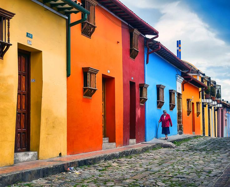 La Candelaria - a vibrant and historic neighborhood in Bogotá