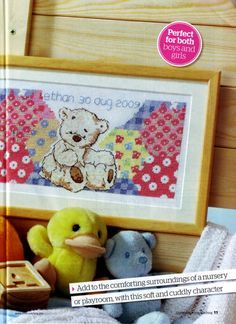 Lickle Ted First Lickle Sampler The World of Cross Stitching Issue 155 October 2009 Saved
