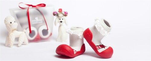 For little lady - attipas ballet red