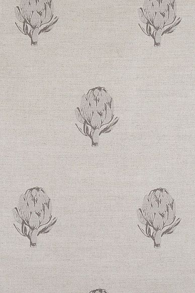 Emily Bond Grey Artichoke Linen Union