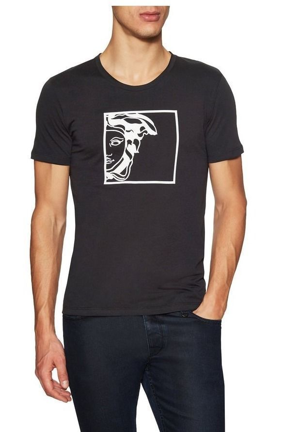 Versace Collection Cotton Black T-Shirt