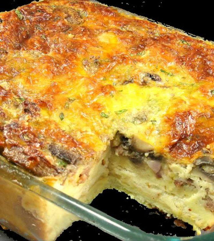 Foto: eierquiche heerlijk bij de lunch of diner van te voren klaar te maken.. Geplaatst door elootje op Welke.nl