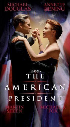 """""""The American President"""" - with Michael Douglas, Annette Bening, Martin Sheen, and Michael J. Fox (1995)"""