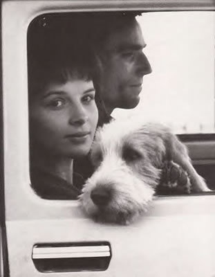 Juliette Binoche and Daniel Day Lewis in The Unbearable Lightness of Being, by Philip Kaufman.