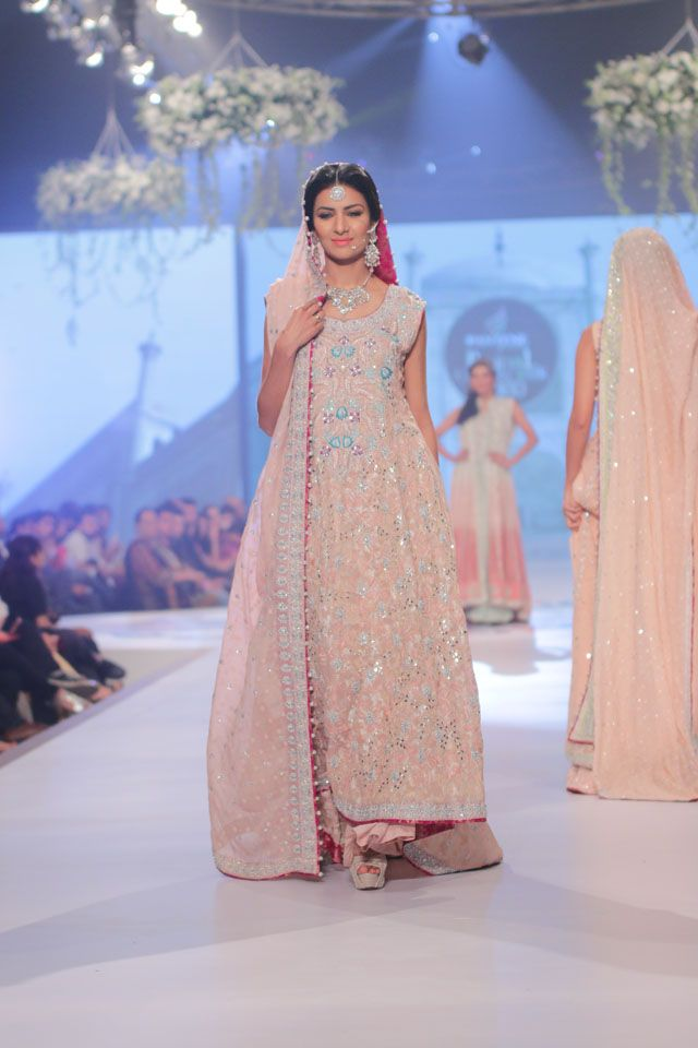 Sana Abbas Bridal Collection at PBCW 2014 Day 1 #PerfectMuslimWedding