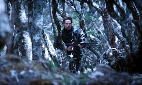 """The Hunter, 2011. Dir: Daniel Nettheim. """"Willem Dafoe is magnificent as a lone hunter in this gripping existential drama set in the wilds of Tasmania, writes Jason Solomons"""""""