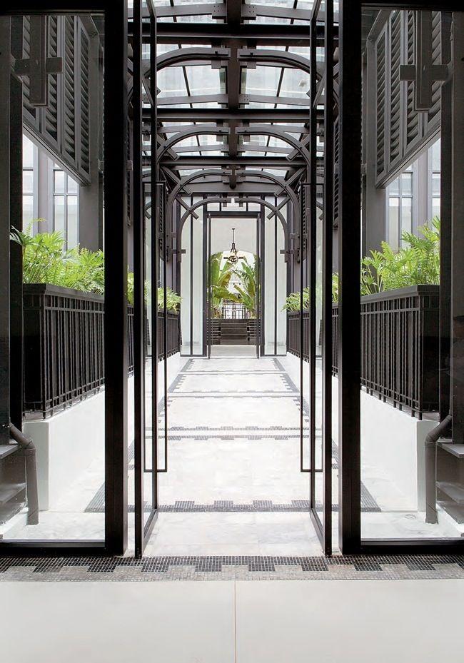 the siam hotel, bankok, thailand