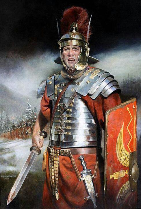 ▄ http://www.pinterest.com/bradleyl30/glory-of-rome/   Roman Legionaire