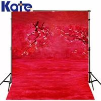 New Arrival Background Fundo Red Background With Flowers 600Cm*300Cm Width Backgrounds Lk 2484