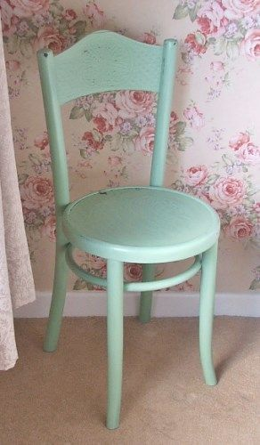 A perfect little chair for a teddy bear or dolly