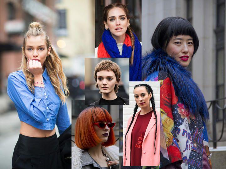 Capelli: tendenze e stili catturati per strada durante la Settimana della Moda di New York