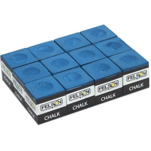Box of 12 Blue Cubes of Pool Cue Chalk by Felson Billiard Supplies by Felson Billiard Supplies, http://www.amazon.com/dp/B0078RF80U/ref=cm_sw_r_pi_dp_1h6brb0HT5C43