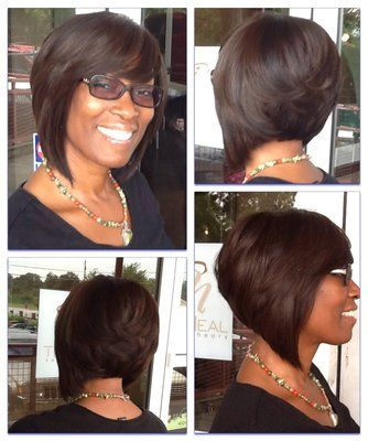 Partial sew-in Bob | Yelp