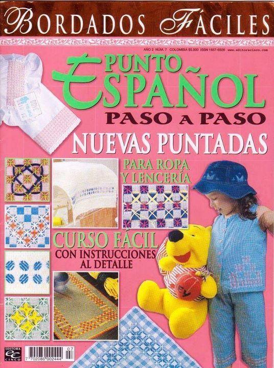 REVISTAS DE MANUALIDADES GRATIS: Revista de Punto español