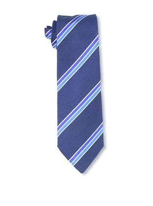 E.Tautz Men's Gawanii Club Stripe Tie