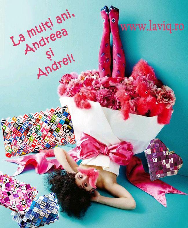 La multi ani, Andreea si Andrei!  www.laviq.ro https://www.facebook.com/pages/LaviQ/206808016028814