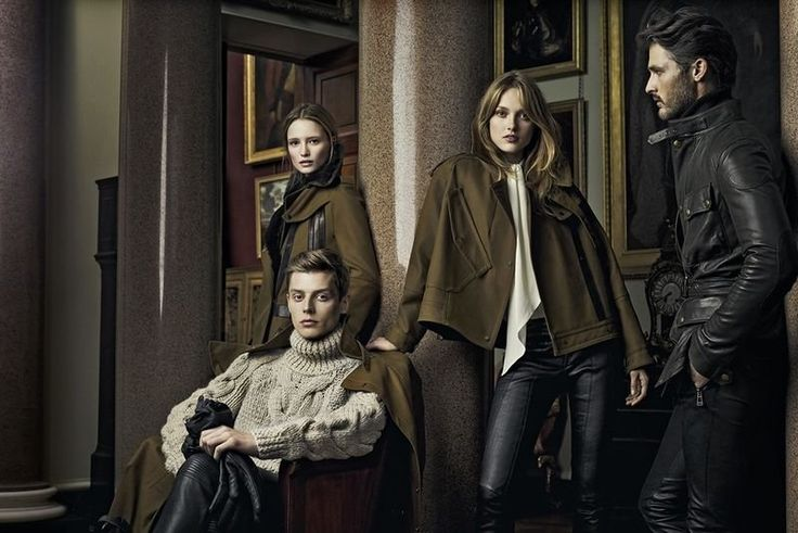 Belstaff Fall 2012 Ad Campaign  Karmen Pedaru and Maud Welzen photographed by Craig McDean
