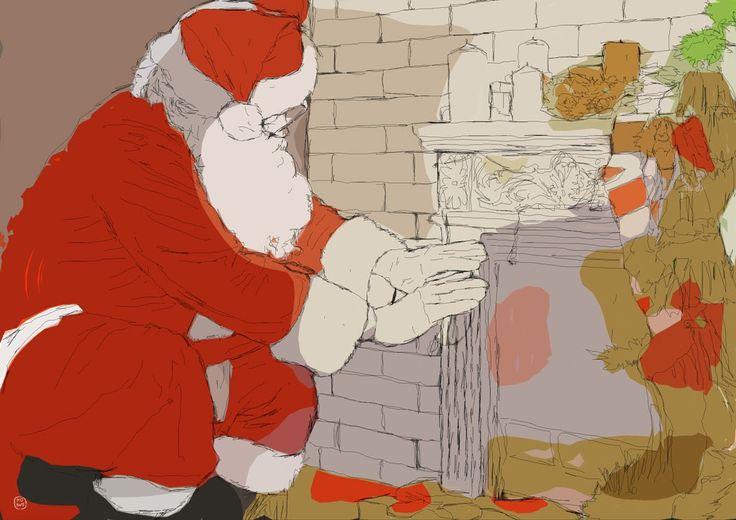 Christmas Eve, DIN a3, 2015