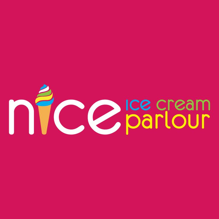 Custom Logo designed for ice cream parlour situated in the Strand, Western Cape.