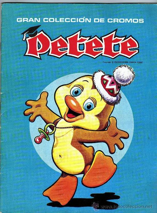 """El libro gordo de Petete: """"el libro gordo te enseña, el libro gordo entretiene, y yo te digo contenta: hasta la clase que viene""""..."""