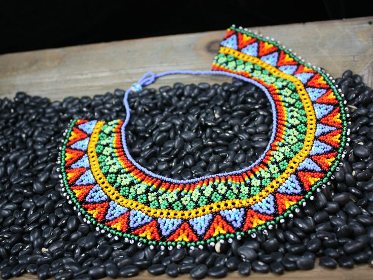 Geometric Traditional Embera Necklace