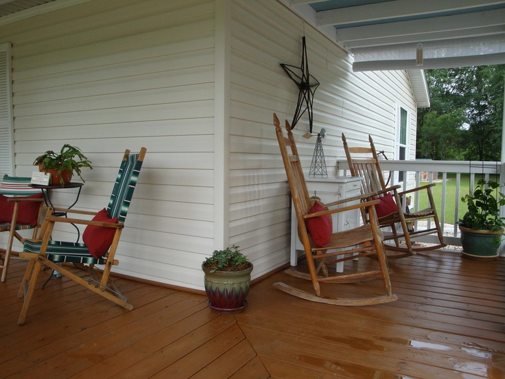 17 best images about perfect porch on pinterest decks for Mobile home with wrap around porch