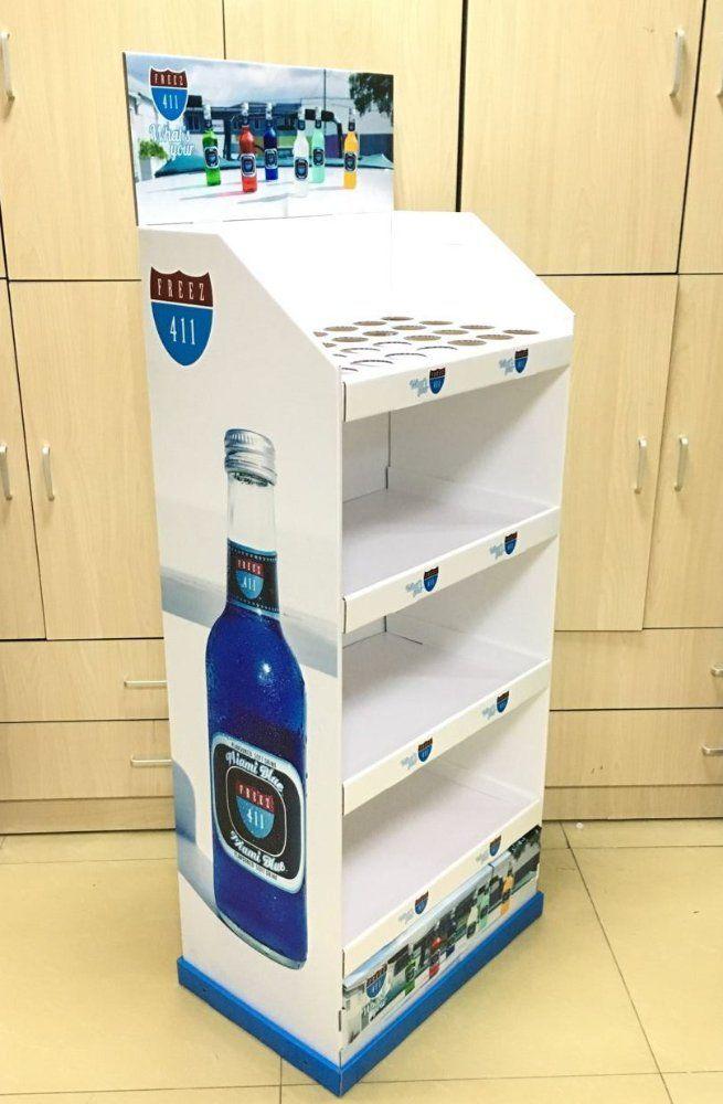 Display wine rack, cardboard display for beer soft drink and beverage | Heidi Frisinger | LinkedIn